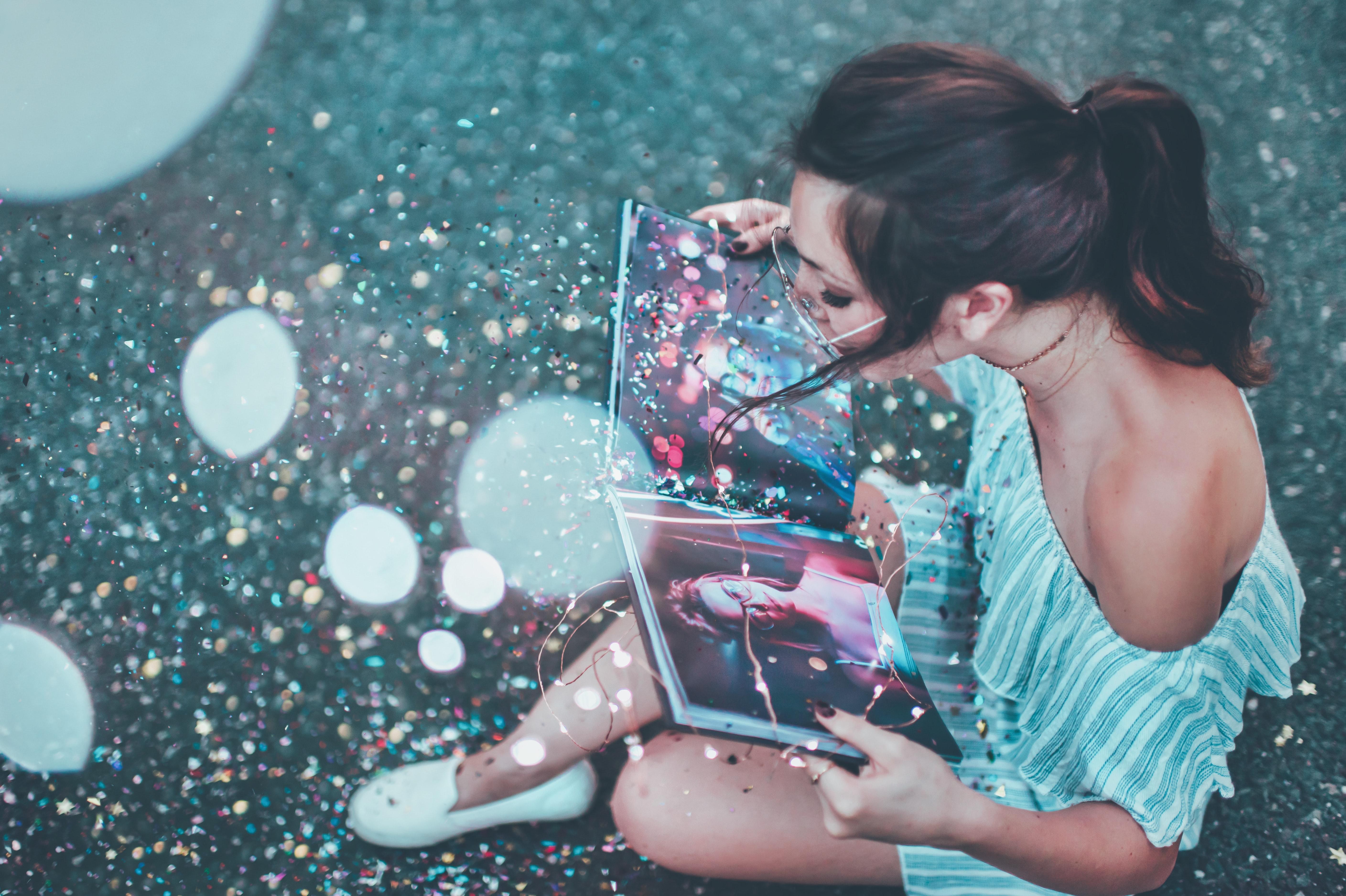 Glitter book