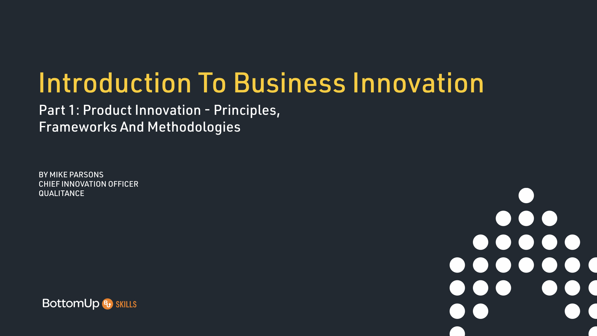 Business Innovation1: Product Innovation