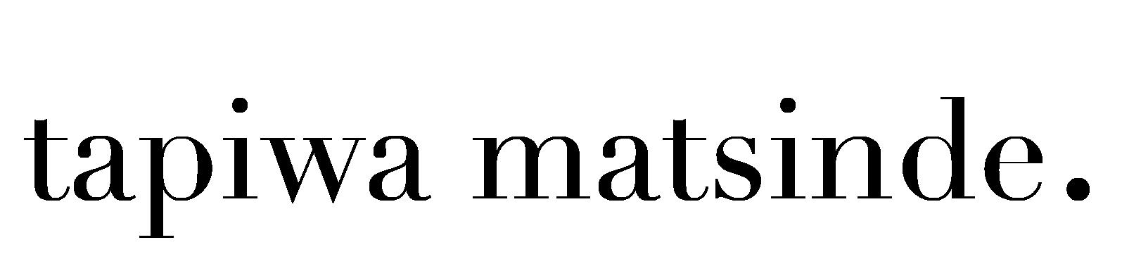 Tapiwa Matsinde