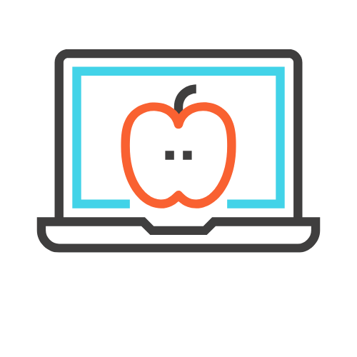 iFoodComply logo includes the word 'iFoodComply' underneath a sketch of a laptop with the outline of an apple