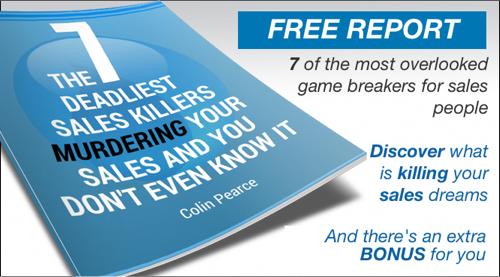 7 Sales Killers e-Report