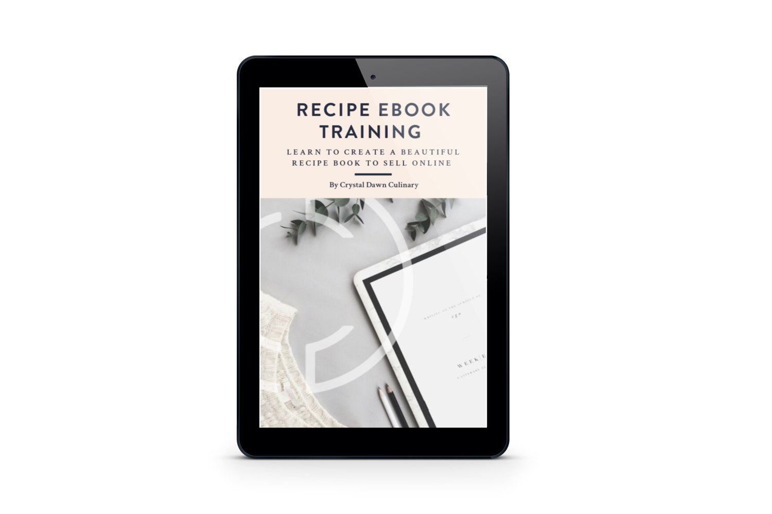 Recipe Ebook Training
