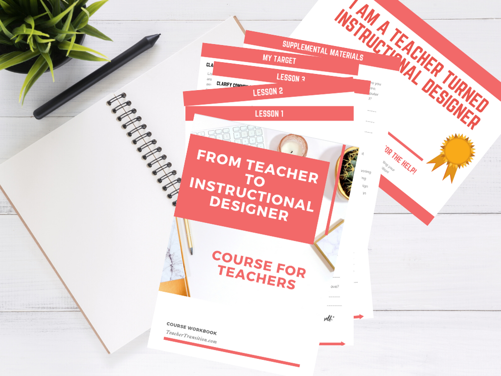 From Teacher To Instructional Designer