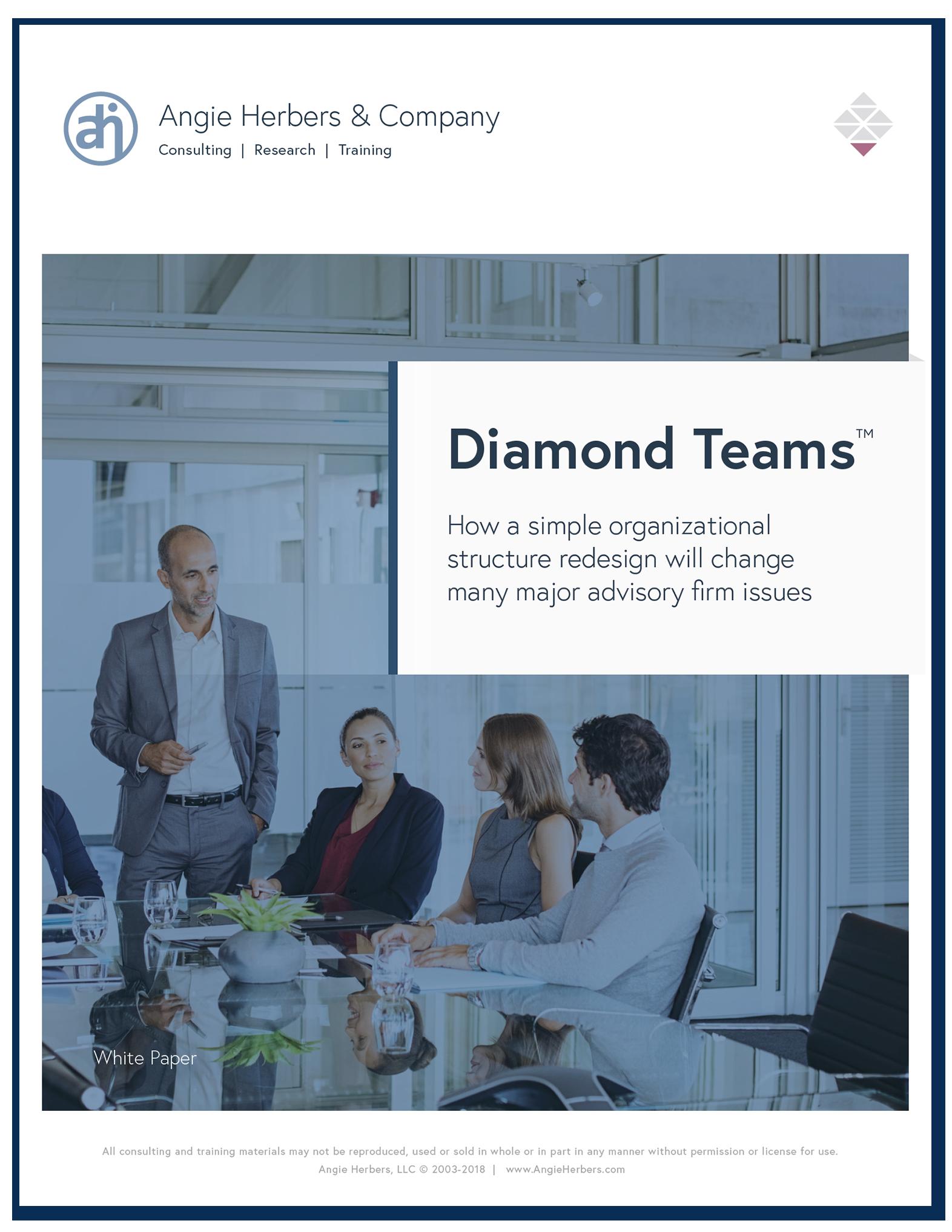 Diamond Teams™ Organizational Structure