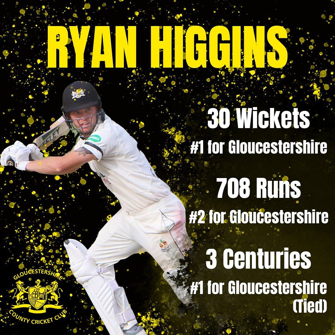 Ryan Higgins - Gloucestershire CCC