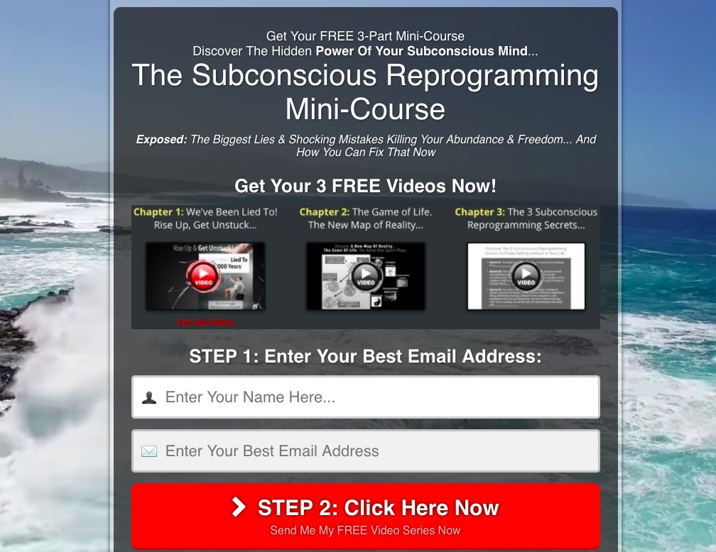 The Subconscious Reprogramming Mini-Course