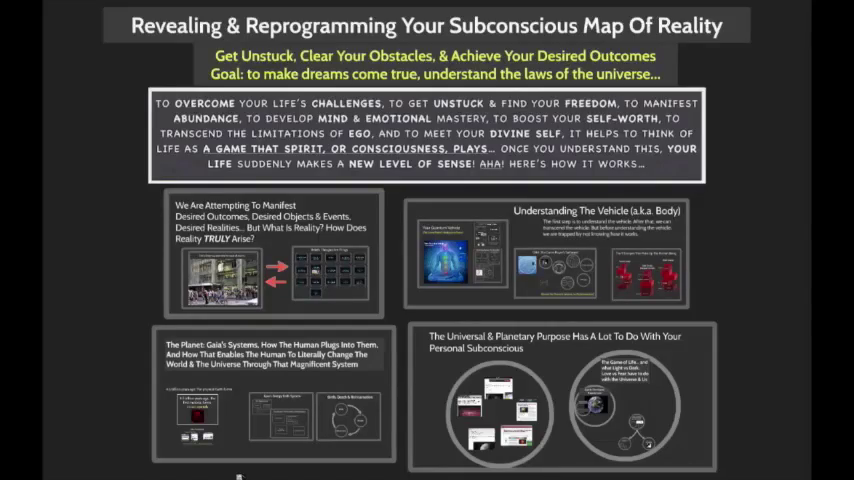 FREE WEBINAR: THE SUBCONSCIOUS REVEALED & REPROGRAMMED