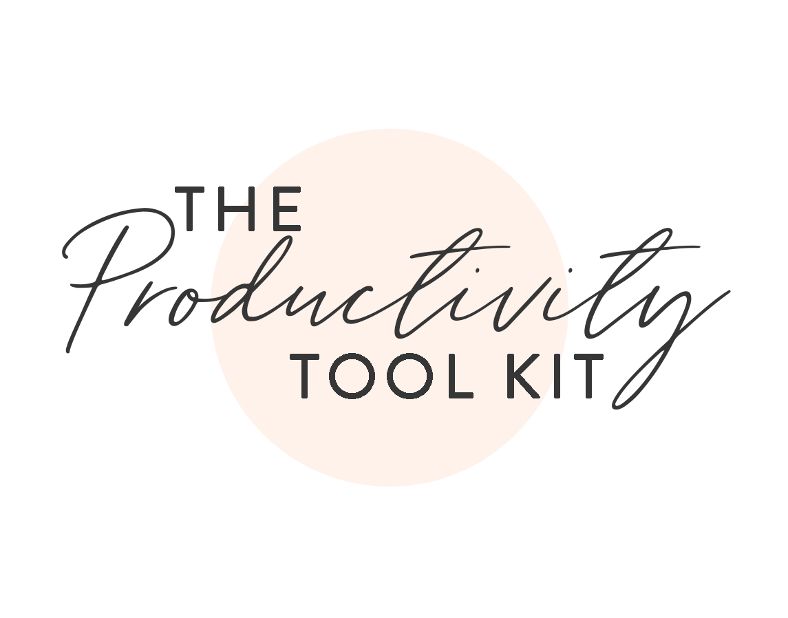 The Productivity Tool Kit
