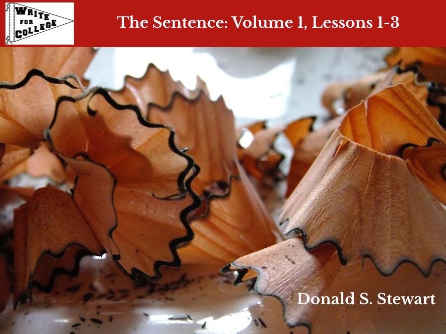 Volume 1 pencil shavings