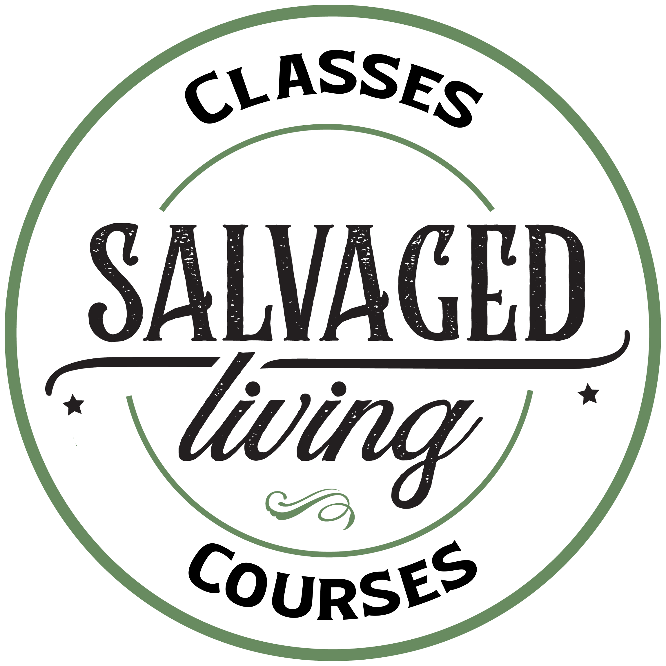 Salvaged Living Courses