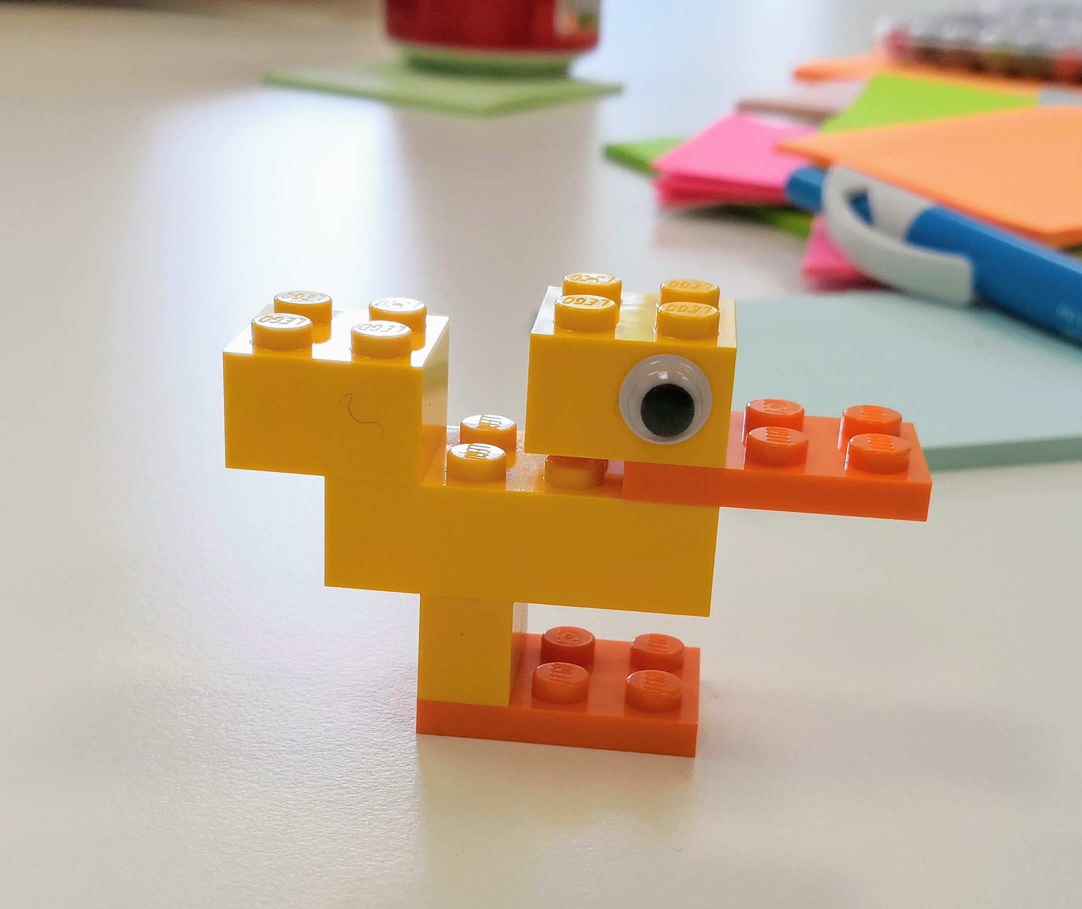Build a Duck from Nikie Forster @ Curious Lighthouse Learning Consultancy Ltd.