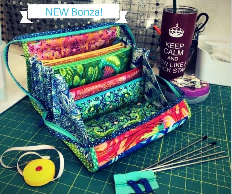 First BONZA! Tula Pink Zuma Fabrics