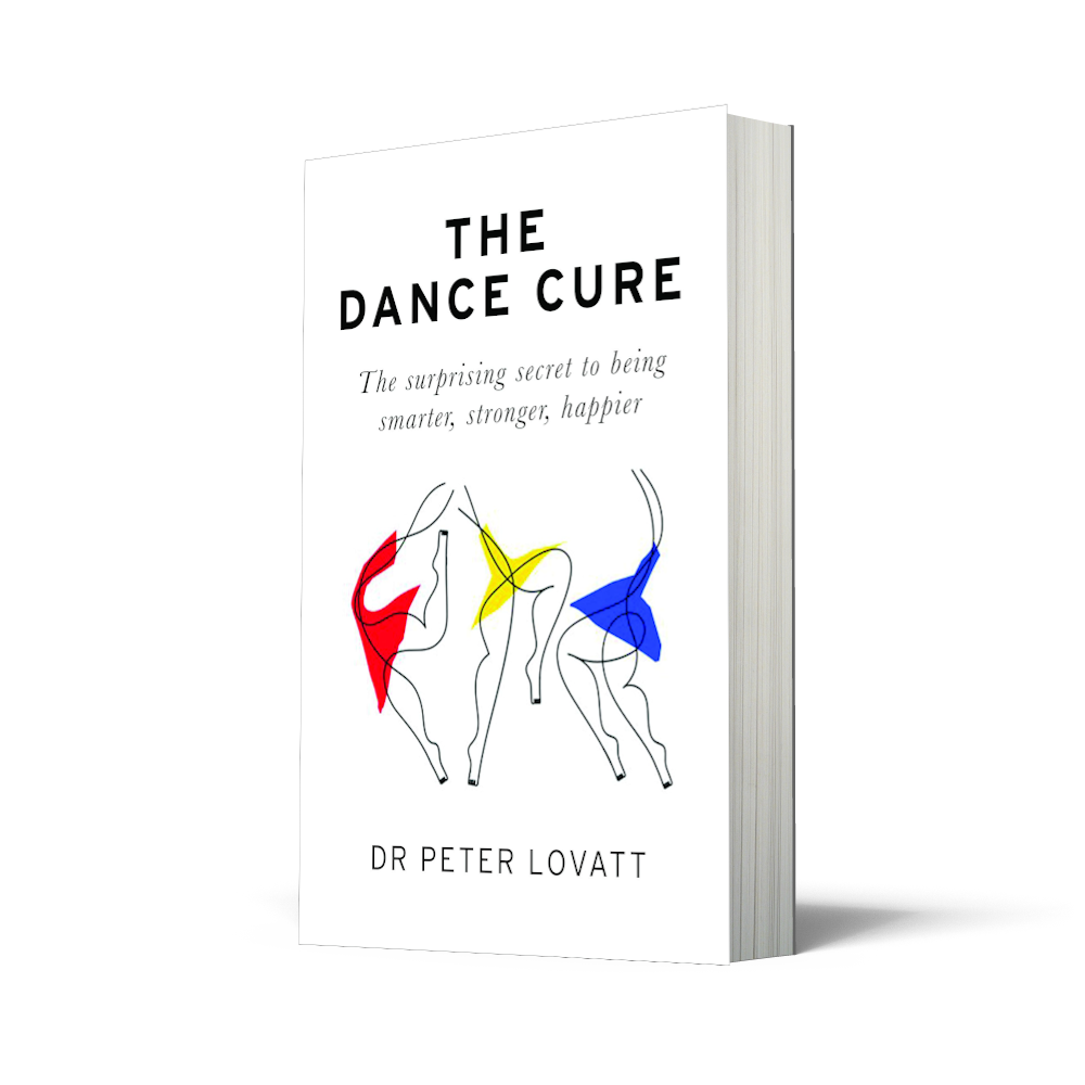 The Dance Cure book cover. UK edition