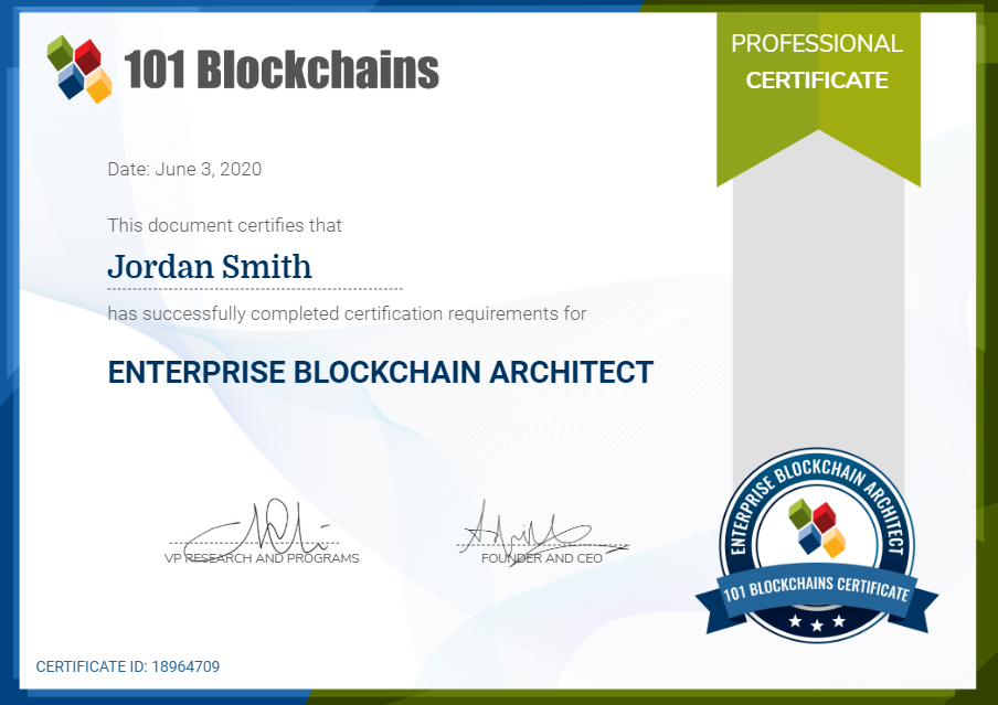 This image has an empty alt attribute; its file name is gFk2eKtaQyikg3APpVFQ_Certified_enterprise_blockchain_architect_PNG
