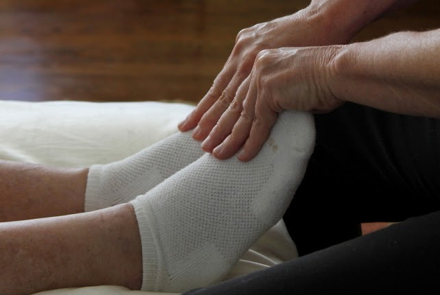 comforting feet