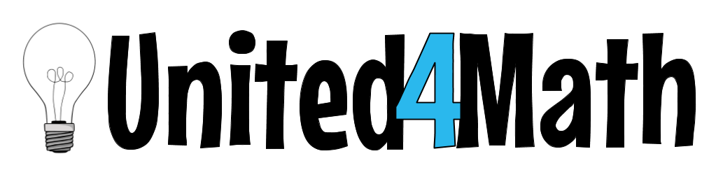 United 4 Math Logo