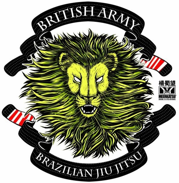 Logo of the british army BJJ team