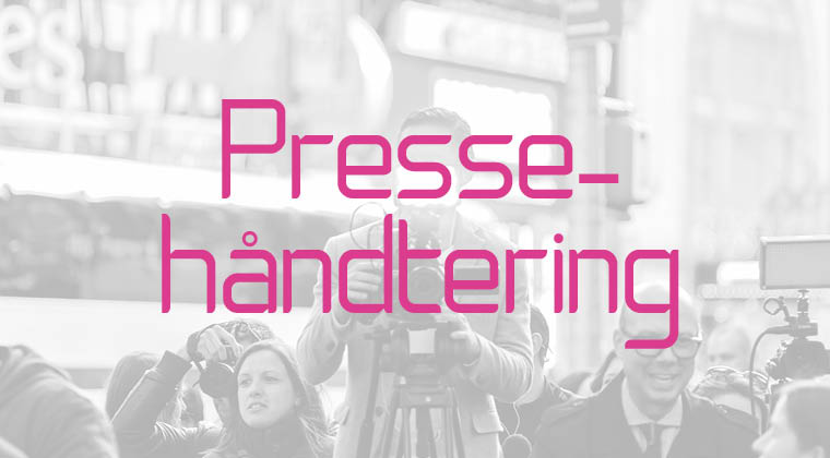 Pressehåndtering