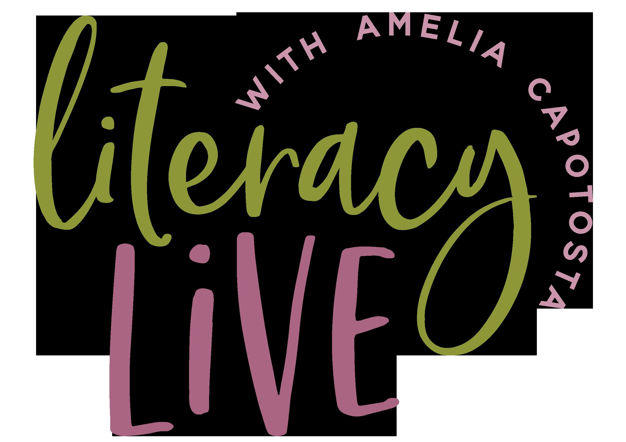 Literacy Live with Amelia