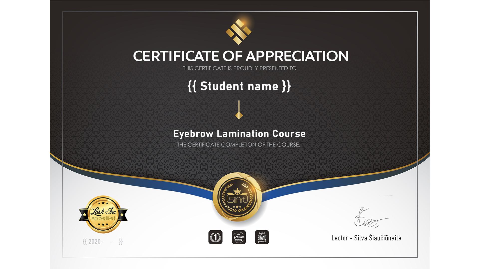 Akredituotas sertifikatas