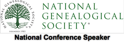 National Genealogical Society - National Conference Speaker