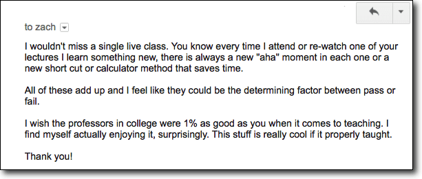 <h2>Live Class Student Feedback</h2>
