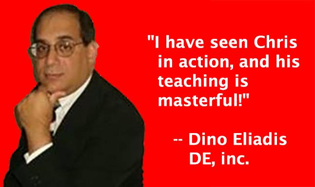 Dino Eliadis, DE, inc.