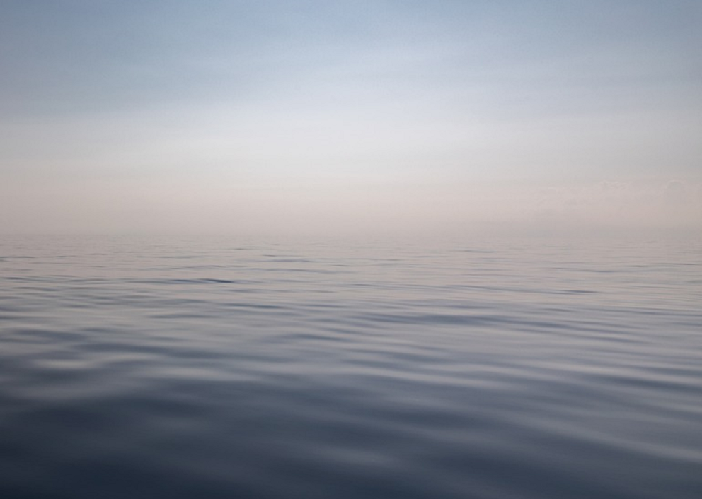 a calm expanse of water
