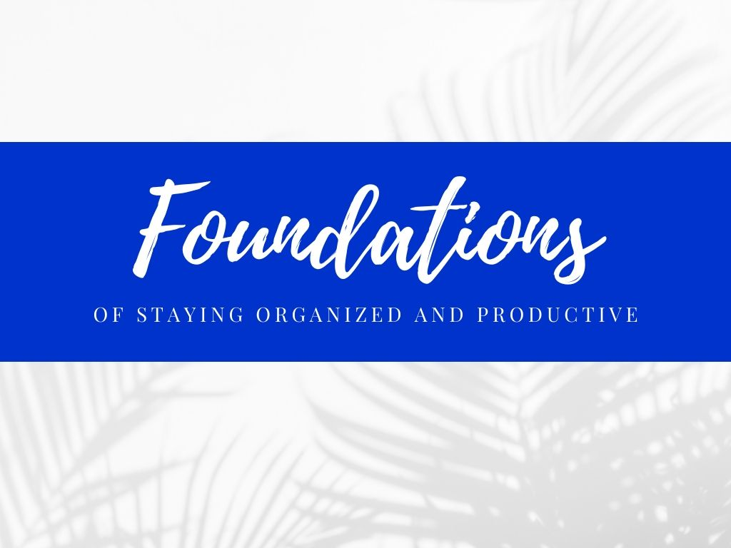 Foundations of Productivity