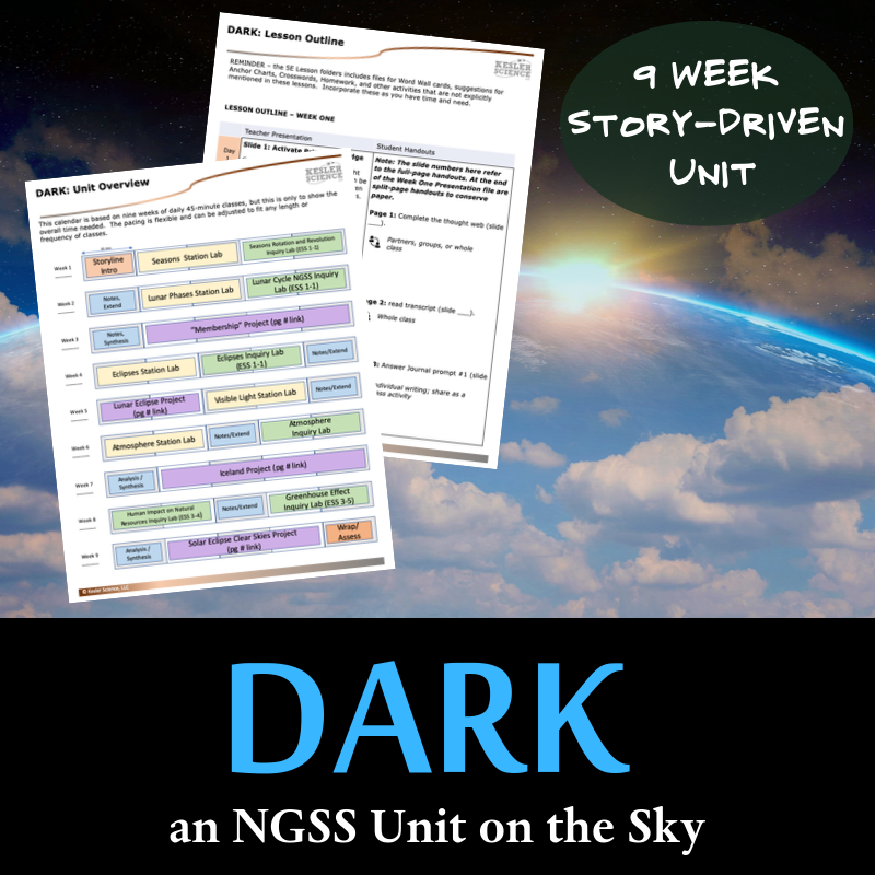 DARK - an NGSS Unit on the Sky
