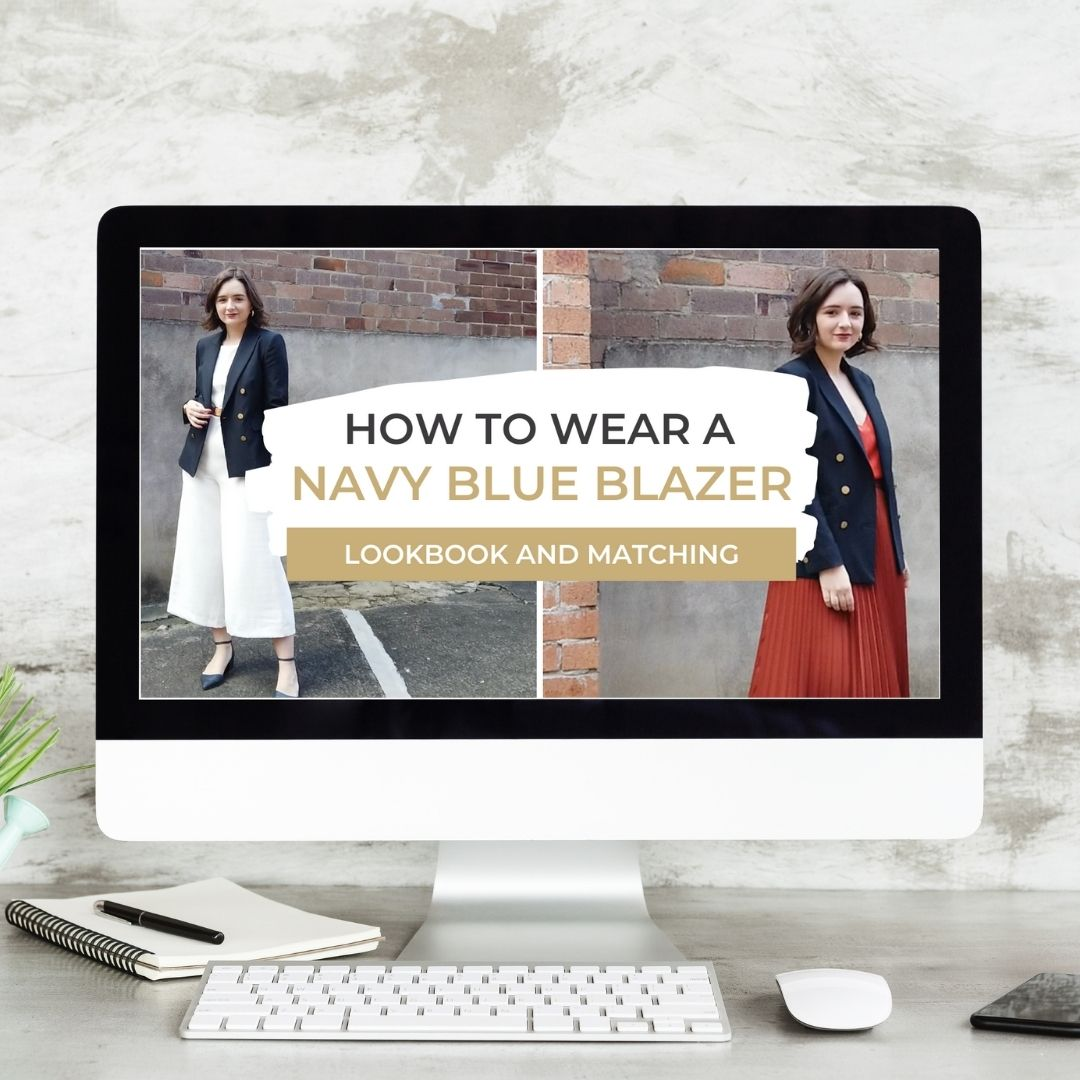 Alarna Hope's Youtube channel - How to wear a navy blue blazer