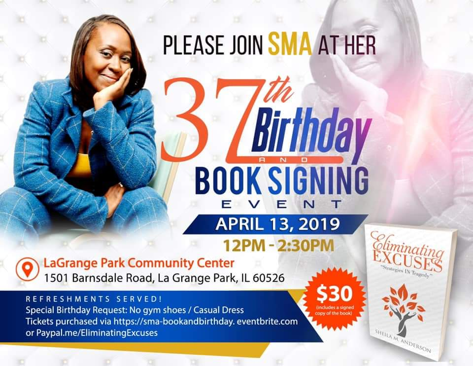 I worked with this amazing woman to build out book content, become obtain Best Seller status with her new book, and with the decision to launch one of her current organizations.  SMA is a mother of five girls, and busy building legacy and income generators for generations to come. Great job SMA!