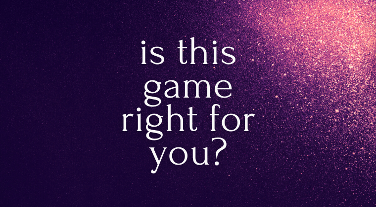 Is this game right for you?