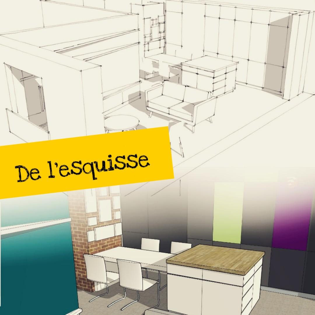 3d plan interieur