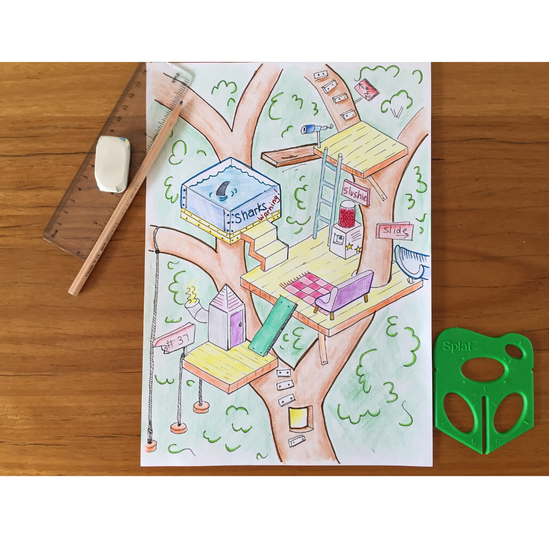 Design a treehouse