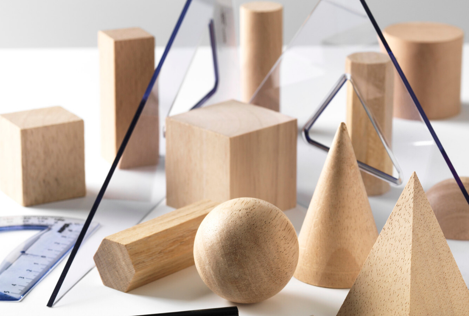 Wooden 3D Objects