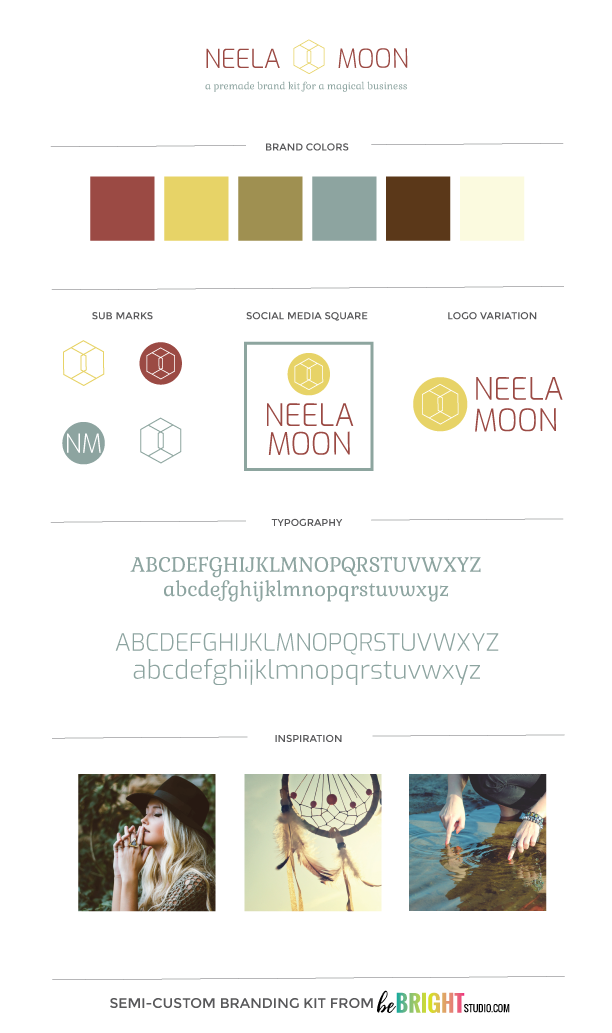 NEELA MOON SEMI-CUSTOM BRANDING KIT