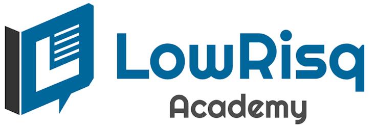 Image of LowRisq Academy logo.