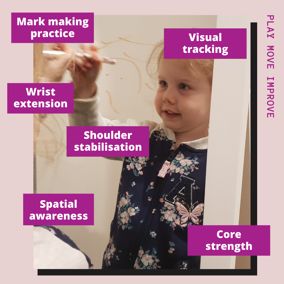 developmental benefits for mark making play