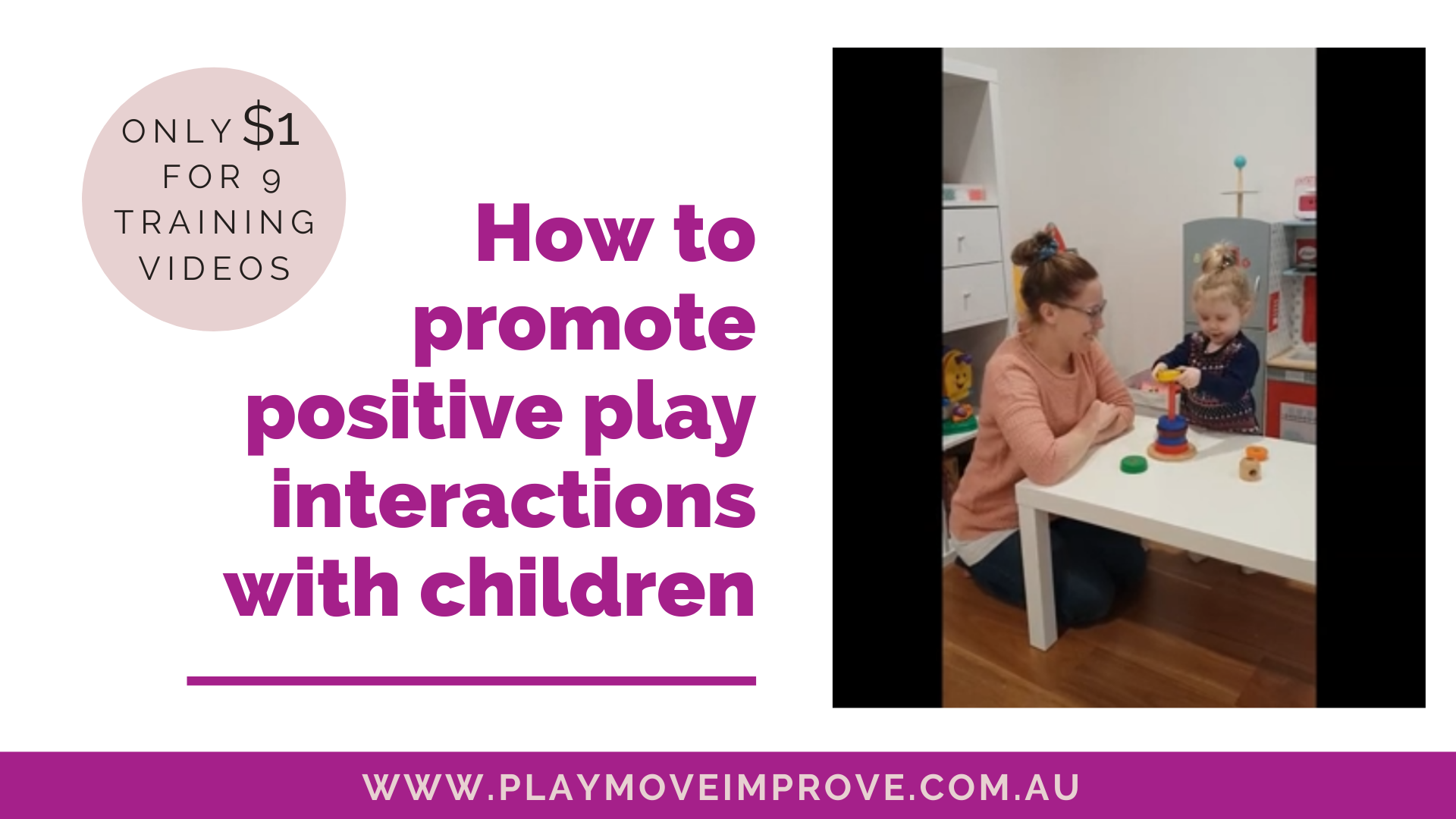 positive play with children