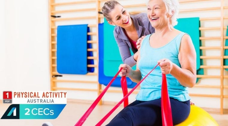 Introduction to Working with Older Adults online course for fitness instructors