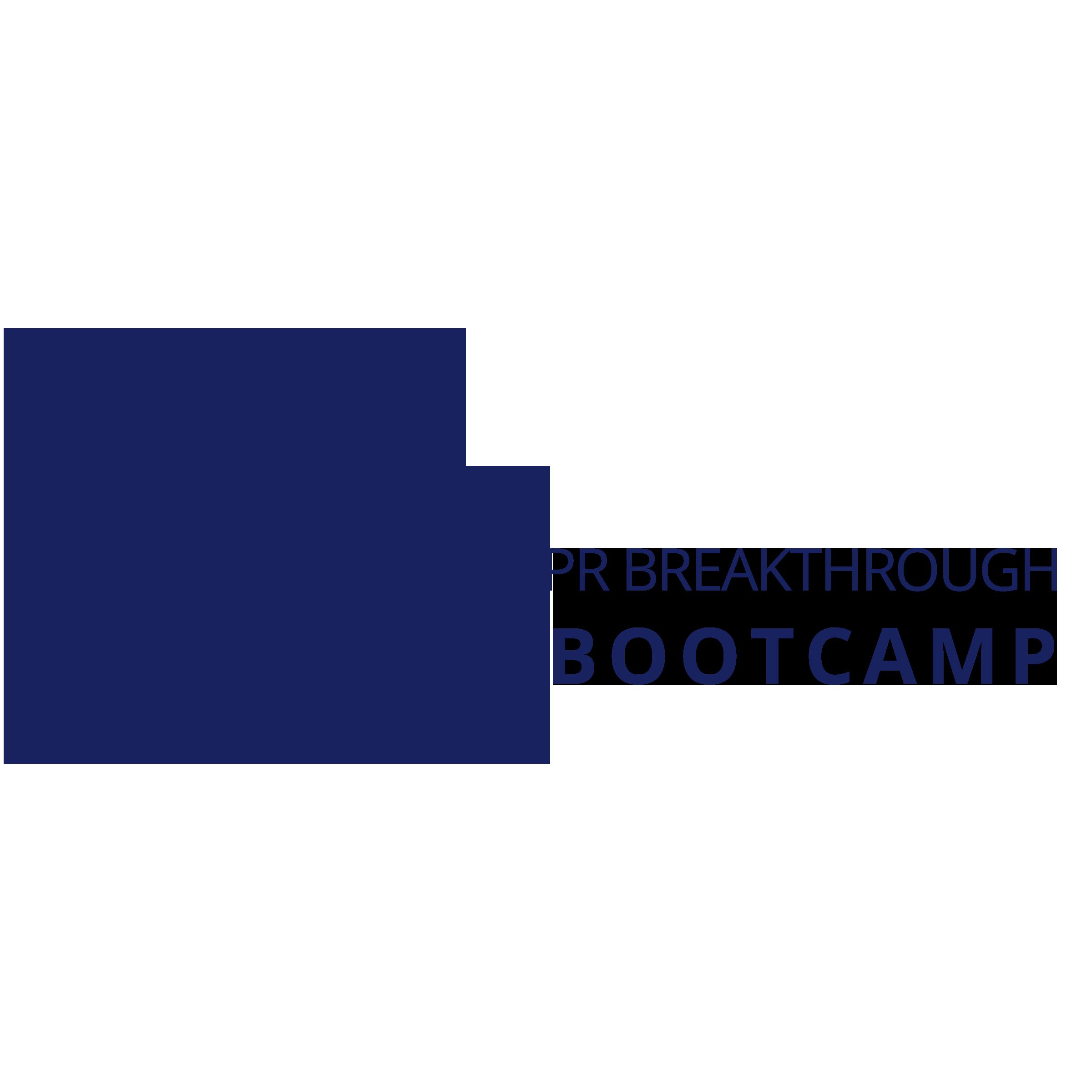 AM PR Breakthrough Bootcamp Logo