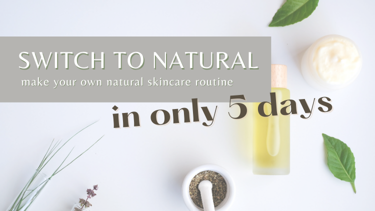 Are you not ready to buy a course? Don't worry, grab for free my DIY skincare routine with only few ingridients!