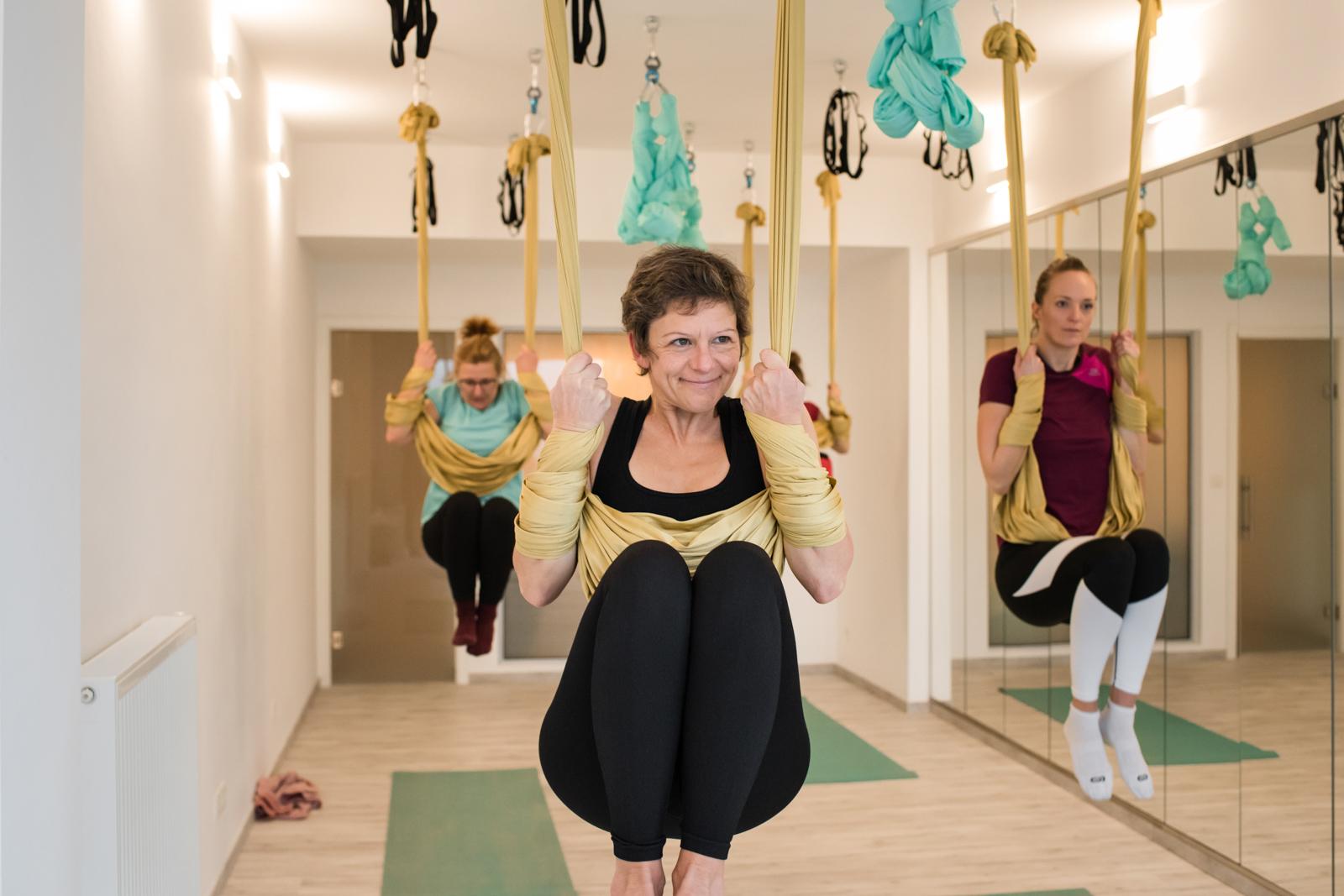 Certification de professeur de yoga aérien