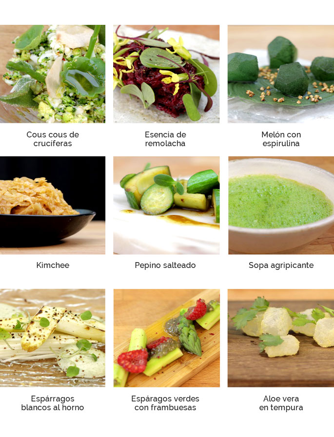 Cocina Vegetariana Gourmet Rodrigo de la Calle