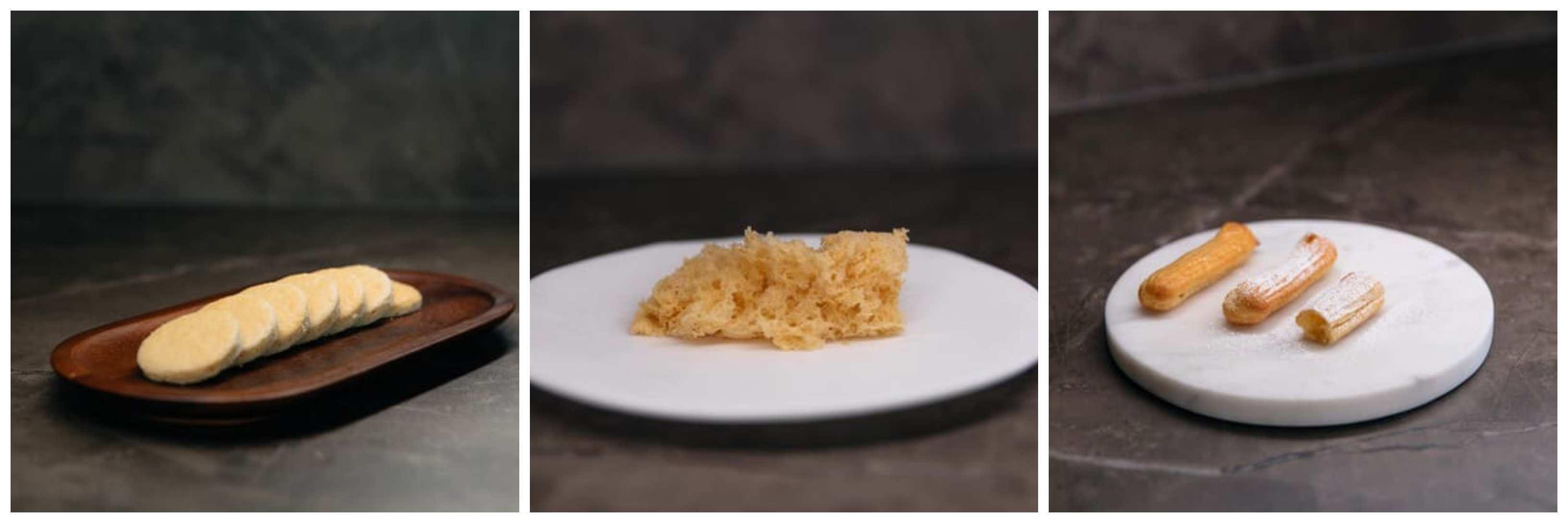 Platos realizados por la chef Begoña Rodrigo