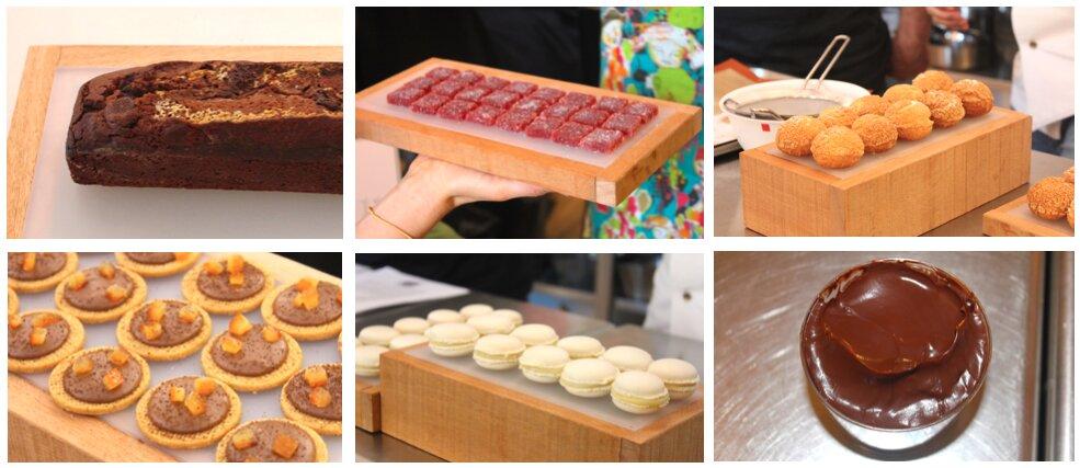 Elaboraciones de pastelería