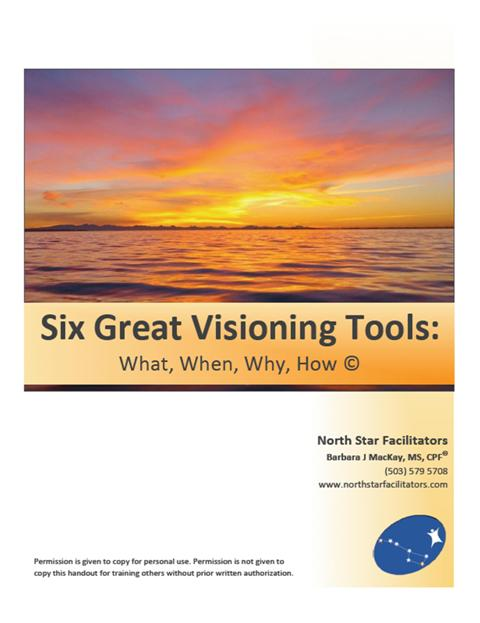 When done well, visioning is an inspiring, creative process that can help groups obtain amazing clarity.