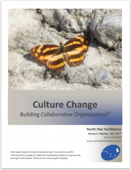 """As facilitators, we often help """"get everyone on the same page"""""""