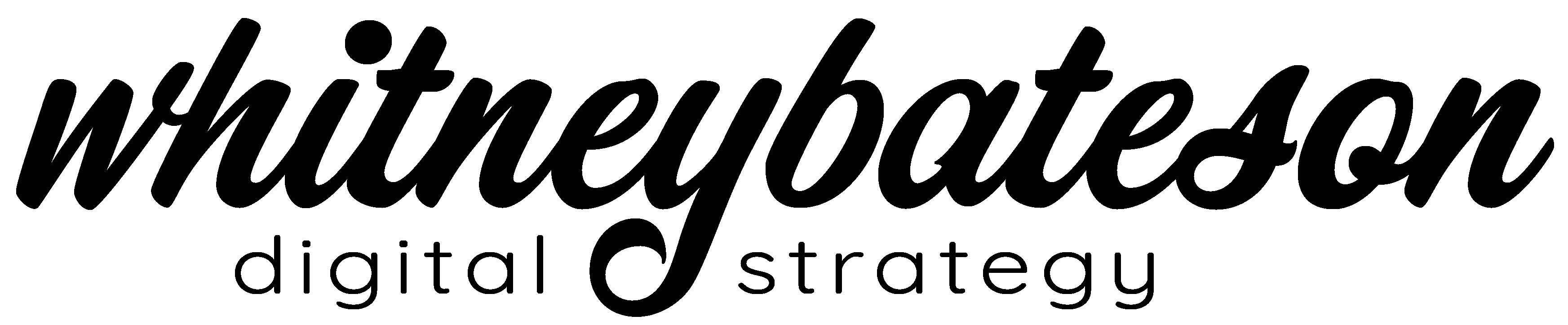 Whitney Bateson Digital Strategy Logo